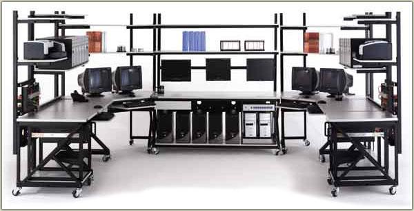 Labs Lan Workstations Server Rack Shelving