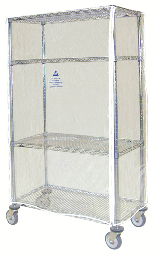 Clear vinyl Cart and Equipment Covers