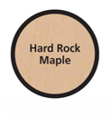 Color Chip Hard Rock Maple