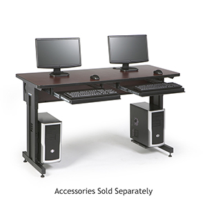 60 in Classroom Training Tables African Mohogony