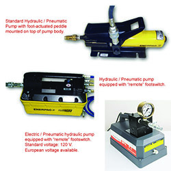 Hydraulic Pumps for Pinch Off Tools
