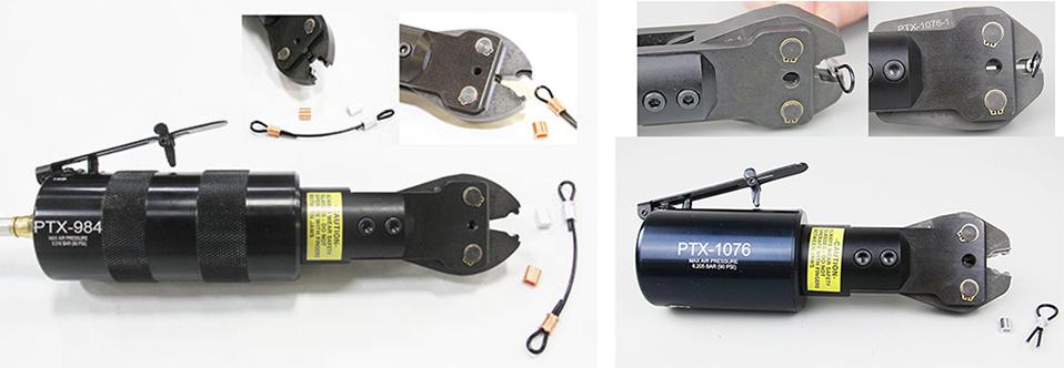 Custom Pneumatic Tool to Crimp Wire Ferrules