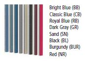 Color Chart - Column Accent Strips