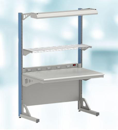 Lista 8000 Series Cantilever Workbench, Single Sided Starter