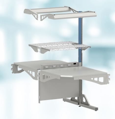 Lista 8000 series Double Sided Corner Workbench